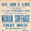 Public Speeches on Woman Suffrage