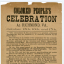 Celebration of the Emancipation Proclamation