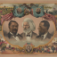 Lithograph of Bruce, Douglass, and Revels