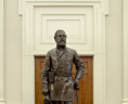 Statue of Robert E. Lee by Rudulph Evans, 1931, State Artwork Collection, Library of Virginia.,