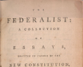 Henry B. Dawson, ed.,  The Federalist: A Collection of Essays, Written in Favour of the New Constitution, As Agreed Upon By the Federal Convention, September 17, 1787 ... (New York: C. Scribner, 1863). Call number JK154 1788, Library of Virginia., LVA