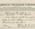 Telegram from William M. Brook to Governor John Letcher, January 11, 1861, Executive Papers of Governor John Letcher, Acc. 36787, State Government Records Collection, Record Group 3, Library of Virginia.,