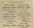 <em>Richmond Business Directory for 1859&#8211;'59 </em> (Richmond, Va.: J. W. Randolph, 1858), 54. Collections of the Library of Virginia.,