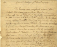 William Woodford to the President of the Virginia Revolutionary Convention, December 9, 1775, Revolutionary Government, Papers of the Fourth Convention, Record Group 2, Accession 30003, Library of Virginia, Richmond, Virginia., LVA