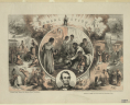 Emancipation / Th. Nast ; King & Baird, printers, 607 Sansom Street, Philadelphia. [Philadelphia]: Published by S. Bott, no. 43 South Third Street, Philadelphia, Penna., c1865., LOC