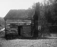 Robert Harvey slave cabin [graphic] / Wm. C. Sponaugle. Photograph accompanies Virginia Historical Inventory survey report: VHIR/23/0393. Virginia WPA Historical Inventory Project, Library of Virginia, Richmond Virginia., LVA