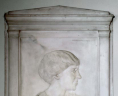 Harriet Whitney Frishmuth, Lila Meade Valentine Memorial Plaque, State Artwork Collection. Library of Virginia, Richmond, Virginia., LVA