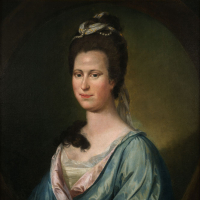 Pratt, Matthew, Mary Willing Byrd (Mrs. William Byrd III) Oil Painting Original. Virginia State Artwork Collection: acquired 1920, Library of Virginia.
