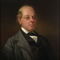 John Letcher (1813–1884). Portrait in State Artwork Collection, Library of Virginia.