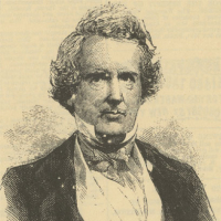 John Janney (1798&#8211;1872). Engraving in <em>Frank Leslie's Illustrated Newspaper</em>, March 23, 1861.