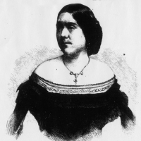 Martha Haines Butt (1833&#8211;1871). Engraving in <em>Frank Leslie's Illustrated Newspaper</em>, January 14, 1860.