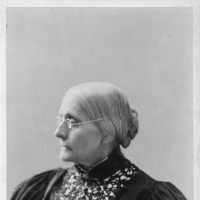 Susan B. Anthony, head-and-shoulders portrait, [facing left] 1 photographic print on cabinet card. Harris & Ewing, photographer. Mary Church Terrell Papers. Library of Congress Prints and Photographs Division Washington, D.C.http://hdl.loc.gov/loc.pnp/cph.3c11423