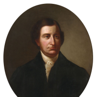 Edmund Randolph (1753–1812), Oil Painting by Flavius Fisher, acquired in 1874. State Artwork Collection, Library of Virginia.