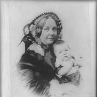 Elizabeth Cady Stanton and her daughter, Harriot–from a daguerreotype 1856. Library of Congress Prints and Photographs Division Washington, D.C. http://memory.loc.gov/cgi-bin/query/r?ammem/suffrg:@field(NUMBER+@band(cph+3a49096))