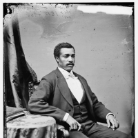 Hon. Josiah Thomas Walls of Florida, [created between 1860 and 1875], LC-DIG-cwpbh-00552, Prints and Photographs Division, Library of Congress, Washington, D.C. http://www.loc.gov/pictures/item/brh2003001198/PP/