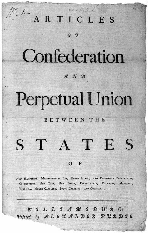 the long history of drafting and amending the articles of confederation and the constitution of 1787 Brief review in united states history and government 55 delegates came together in philadelphia to amend the articles of confederation a plan of government designed to solve the governmental problems experienced under the articles of confederation the constitution they created has.