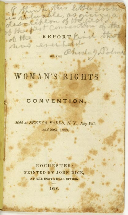the womens rights movement 1848 1920 essay