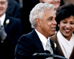 education from lva douglas wilder was inaugurated governor