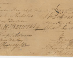Resolution to Summon a Convention in Williamsburg, May 30, 1774