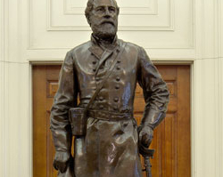 Robert E. Lee takes command of Virginia's forces