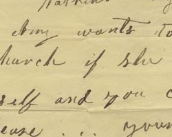 Written Permission for Amy, an Enslaved Woman, to Join a Church, August 13, 1838