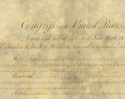 The Bill of Rights to the U.S. Constitution, December 15, 1791