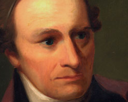 Patrick Henry, oil painting