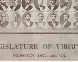 Some of the First African American Virginia State Legislators, 1871–1872