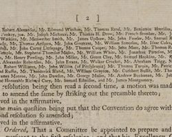 Virginia Ratifying Convention Journal, June 25, 1788