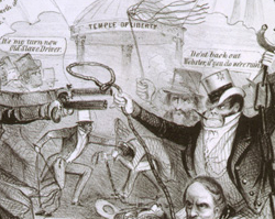 """Practical Illustration of the Fugitive Slave Law"""