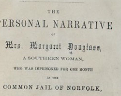 Margaret Douglass Taught Free Black Children in Norfolk to Read, 1852