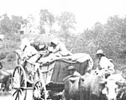 African Americans Fording the Rappahannock, Photograph, August 1862