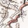 Index map to maps of the canal in the James River Valley, 1824
