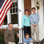 Governor Tim Kaine and family.