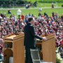 Governor Tim Kaine address the Virginia Tech University Convocation