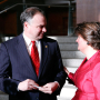 Governor Tim Kaine and Anne Holton