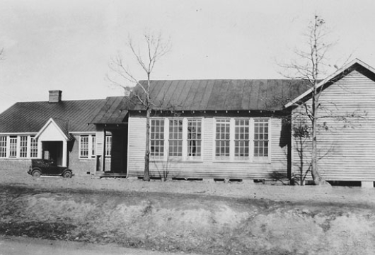 Rosenwald, Appomattox [graphic], February 1932, Computer file: 1998, Library of Virginia, Richmond, Virginia.