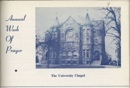Program Bound in <em>Virginia Union Bulletin</em> (Richmond, VA: Virginia Union University, 1956&#8211;1957), Vol. 57, LC2851.V9 B9, Library of Virginia, Richmond, Virginia.