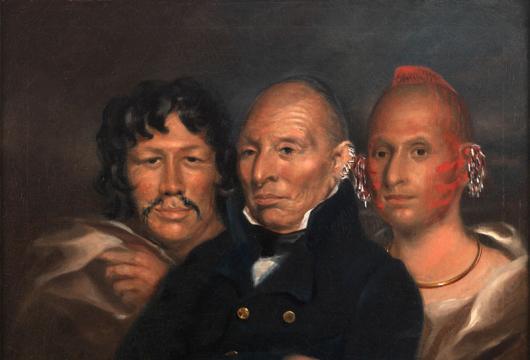 Ford, James Westhall, Black Hawk, Oil on Canvas, 1833, Special Collections, Library of Virginia, Richmond, Virginia.
