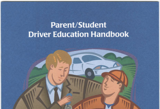 Parent/Student Driver Education Handbook, (Chesterfield, Va.: Chesterfield County Public Schools, 1998) TL152.66.U5 V87 1998, Library of Virginia, Richmond, Virginia.
