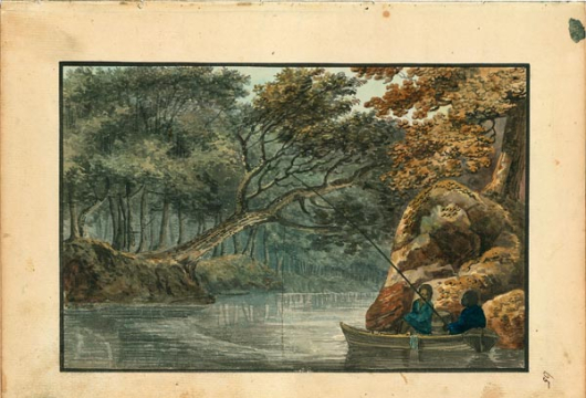 Benjamin Henry Latrobe, An Essay on Landscape, 1798–1799, Accession 25060, Personal Papers Collection, Library of Virginia, Richmond, Virginia