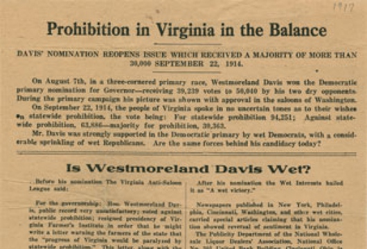 Broadside 1917 .P76 FF, Special Collections, Library of Virginia, Richmond, Virginia.