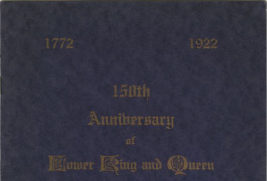 Lower King and Queen Baptist Church, 150th anniversary of Lower King and Queen Baptist Church, King and Queen County, 1772–1922 (Richmond, 1922), BX6480 .K56 L685 1922, Library of Virginia, Richmond, Virginia.