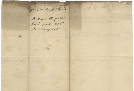 Hiram Dooley Receipt, 14 November 1831, Accession 42807, Personal Papers Collection, Library of Virginia, Richmond, Virginia.