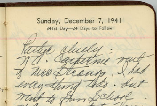 Martha Ann Harris Strong, Diaries, 1922–1995, Accession 36107, Personal Papers Collection, Library of Virginia, Richmond, Virginia.