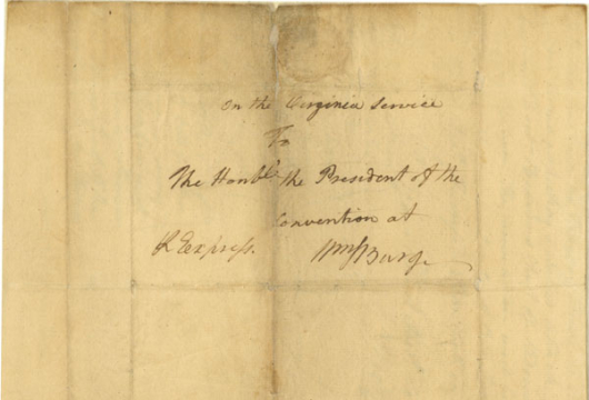 Citation: William Woodford to the President of the Virginia Convention, 9 December 1775, Revolutionary Government, Papers of the Fourth Convention, Record Group 2, Library of Virginia, Richmond, Virginia.