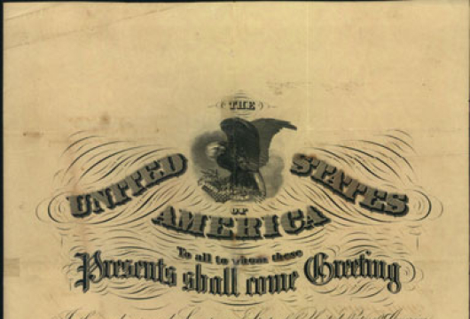 David Lowenberg, Pass, 5 February 1866, Accession 41592, Personal Papers Collection, Library of Virginia, Richmond, Virginia.