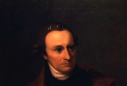 Matthew, George Bagby, Patrick Henry, Portrait, ca. 1883, copy of an original by Thomas Sully, Special Collections, Library of Virginia, Richmond, Virginia.