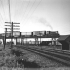 [Train crossing Alexandria viaduct], ca. 1957. Fairfax County Public Library Photograph Collections (online collection). Library of Virginia, Richmond, VA. icon