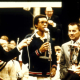 Arthur Ashe Accepting Trophy at Fidelity Bankers Invitational Tennis Tournament, February 16, 1970, Robert Hart Photograph Collection, Special Collections, Library of Virginia, Richmond, Virginia.